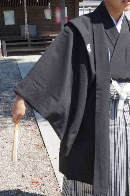 男の子の羽織袴