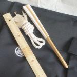 羽織紐と末広