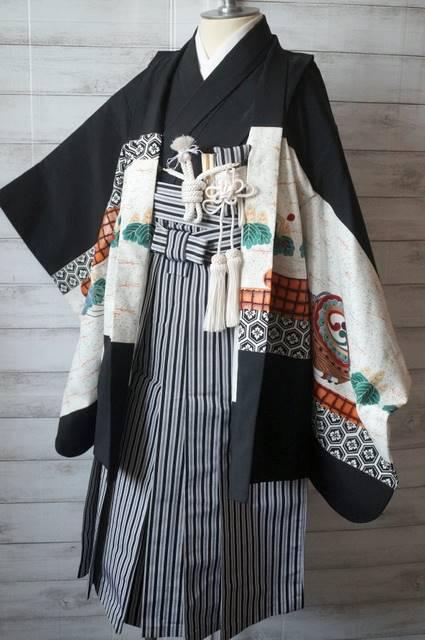 5歳羽織袴セット1