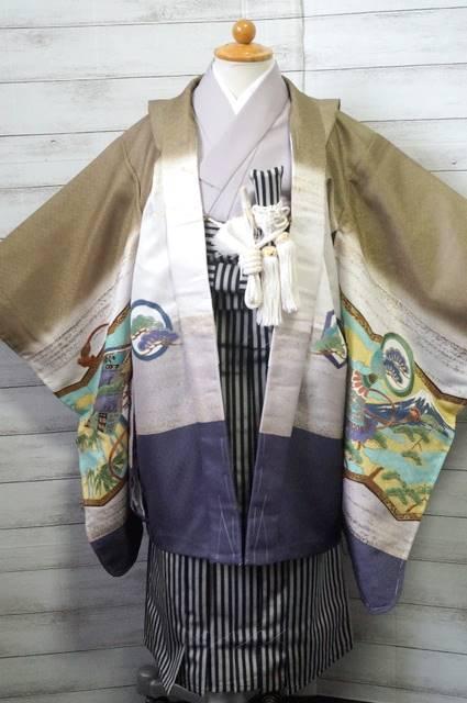 5歳羽織袴2