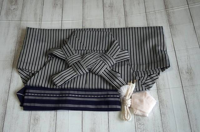 袴と角帯・羽織紐