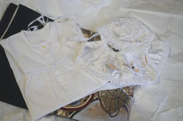 付属のベビー服