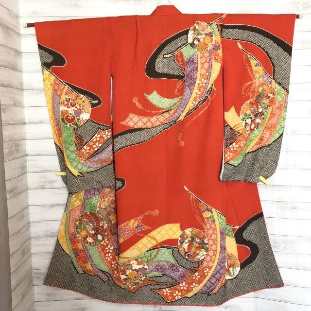 疋田絞り調の祝い着