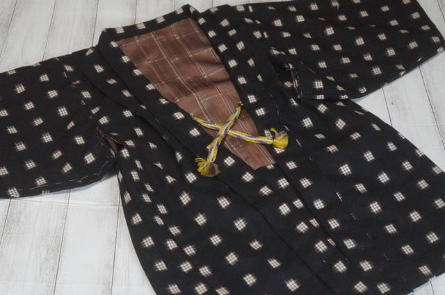 男児ウール羽織