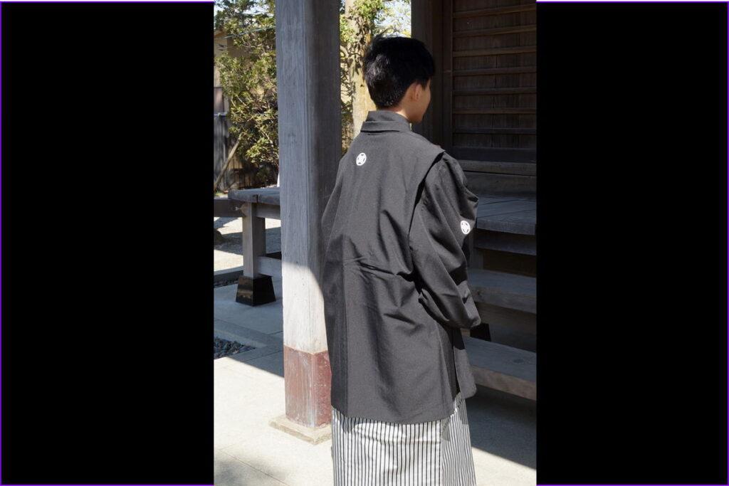 十三参り男の子紋付袴34