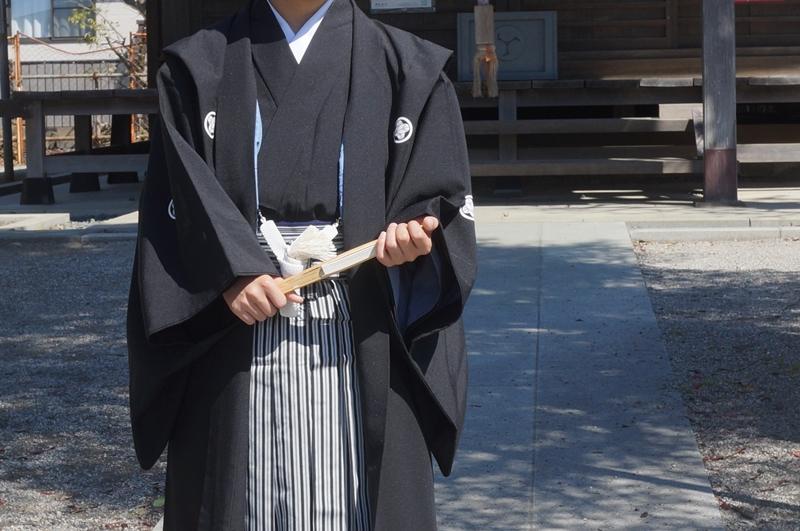 十三参り男の子紋付袴5