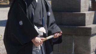 【十三参りぎゃらりー】男の子紋付袴|fujisawa